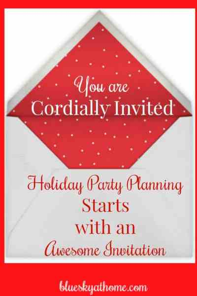 Party Planning Starts with an Awesome Invitation