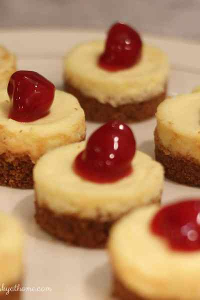 Cherry Cheesecake Tarts for a Special Holiday Dessert