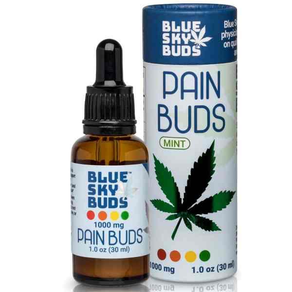 Best CBD oil for pain - Blue Sky Buds