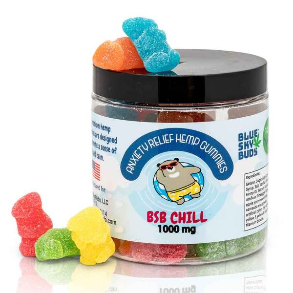CBD/Hemp Extract Gummies BSB CHILL 50 pieces 1000 mg CBD