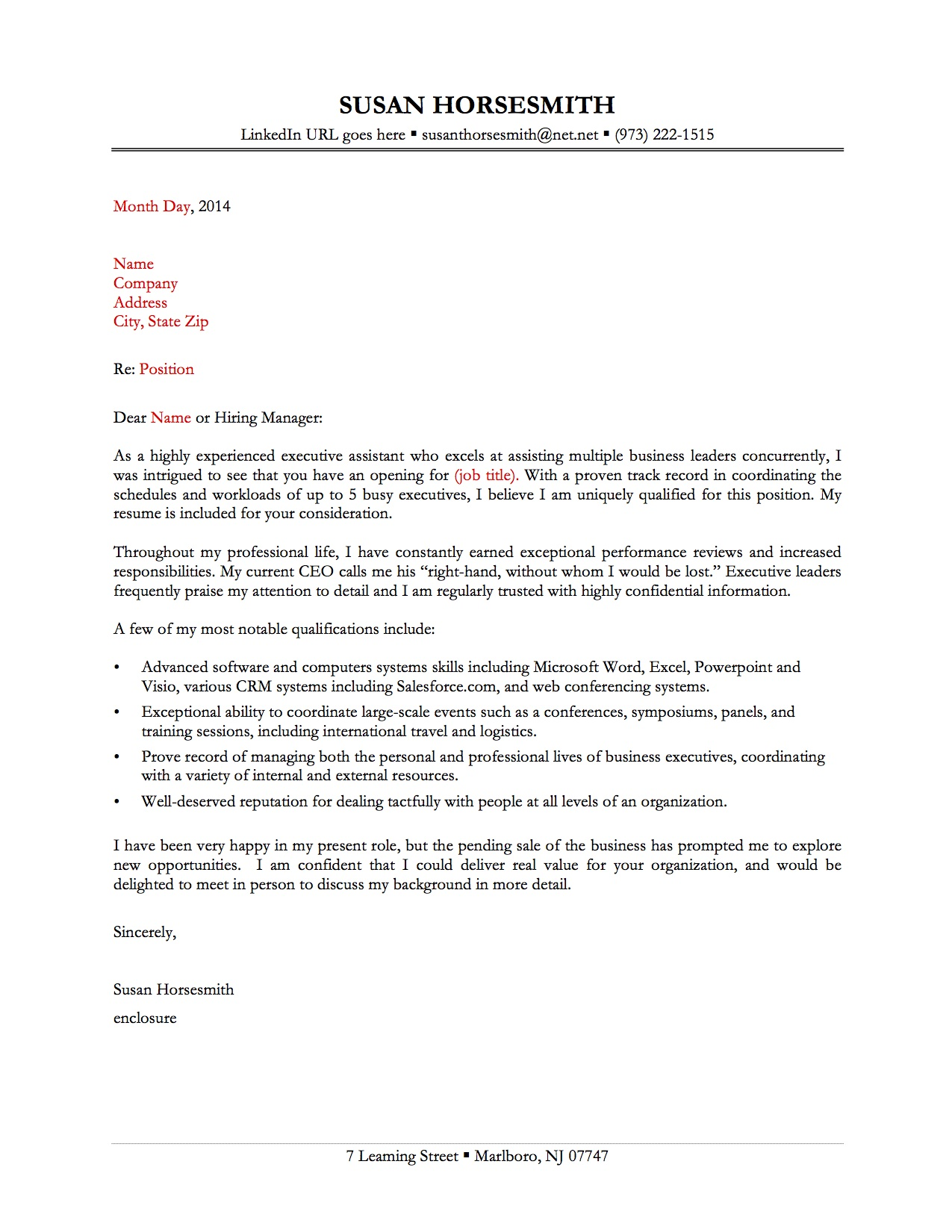 resume cover letter sample 2012 aafi