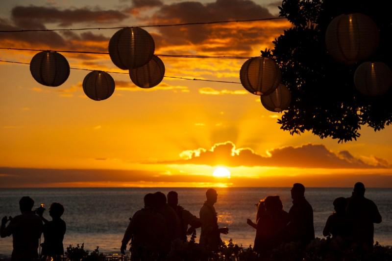 Sunset Maui wedding - Blue Sky Weddings