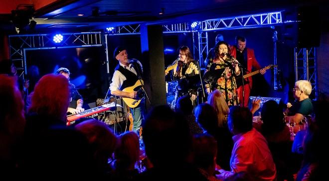 Stor stemning på Den lille bluesfestivalen