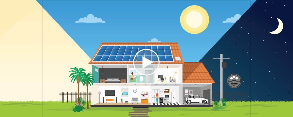 fundo como funciona energia solar