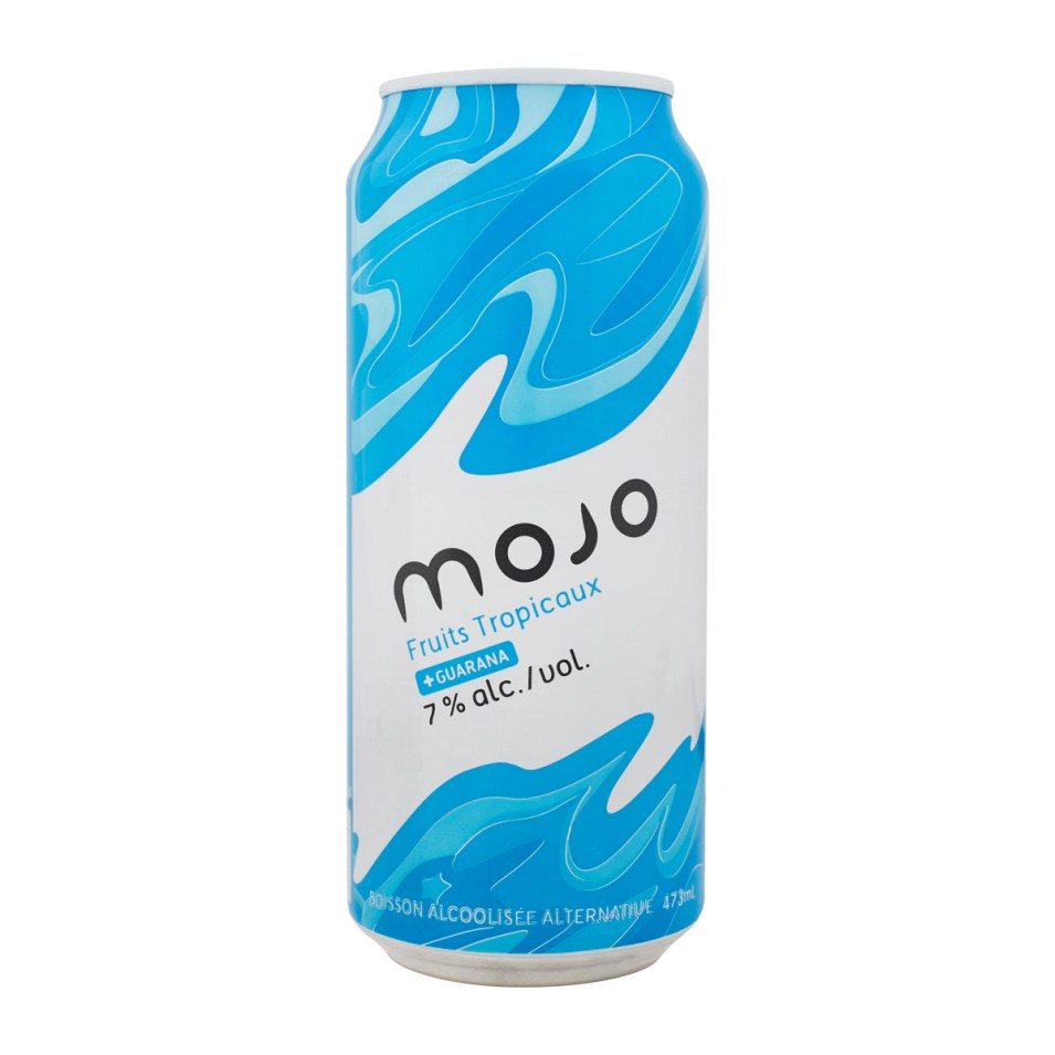 MOJO Fruits Tropicaux Canette