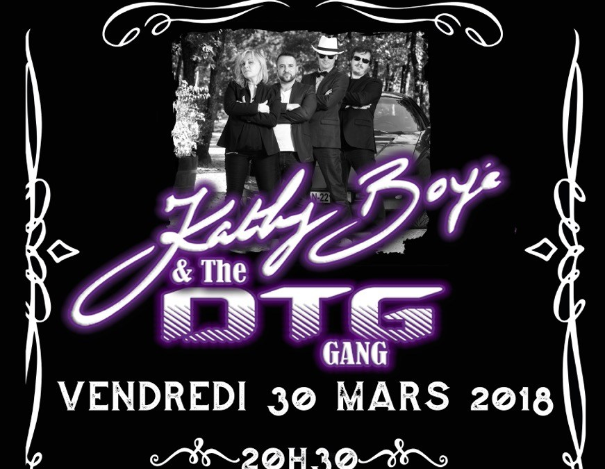 Kathy Boyé & the DTG Gang Quartet à Bergerac