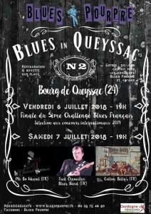 affiche blues in queyssac 2018
