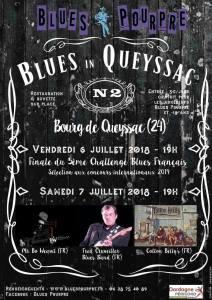 affiche blues in queyssac 2018