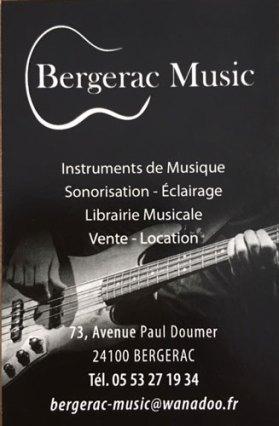 Logo Bergerac Music