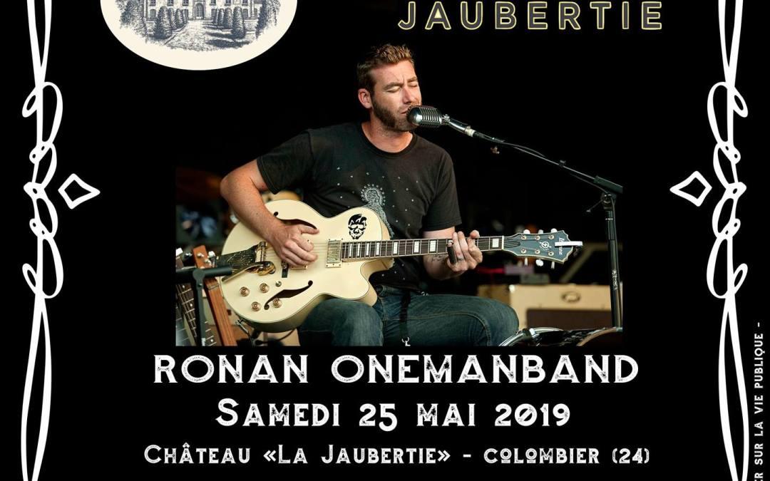 Ronan Onemanband au Château La Jaubertie