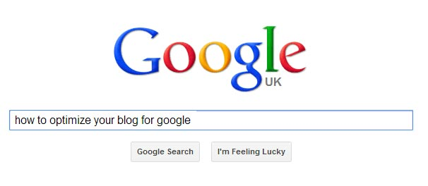 how to optimize your blog for google