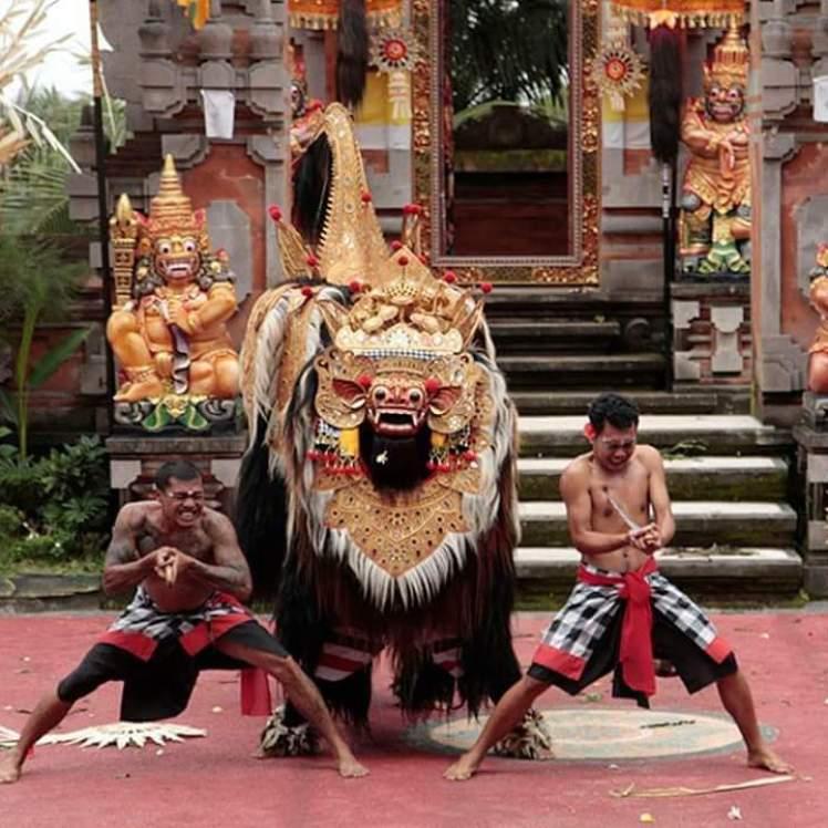 bali full day tour barong dance