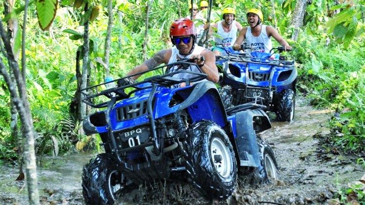 Bali ATV Quad Bike with Ayung River Rafting
