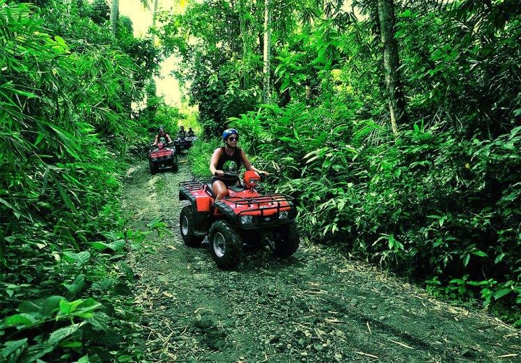 Bali ATV Quad Bike with Kintamani Volcano
