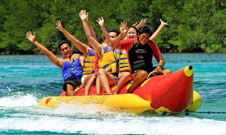 Bali Water Sport And Tanah Lot Sunset Tour