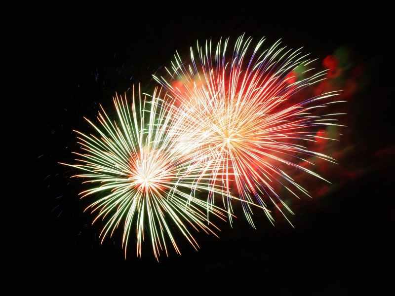 event fireworks shower of sparks pyrotechnics