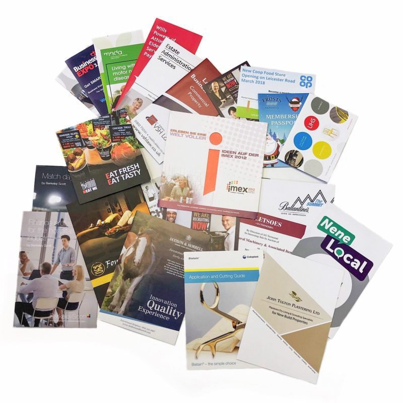 Printed Leaflets and Flyers