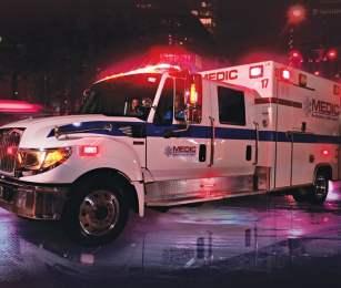 medics helped bluestar customer who blacked out