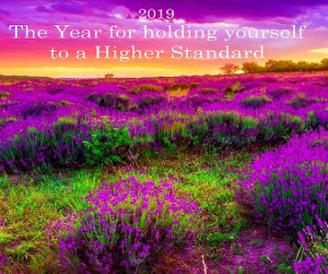 "2019 – The Year for holding yourselves to a Higher Standard And ""Escapism"""