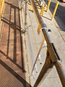 Locomotive Work Safety Handrail