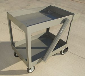 """Service Cart with 24"""" x 36"""""""