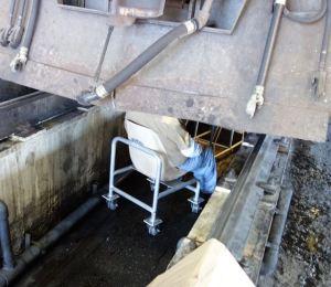 Blue Steel Pit Work Seat