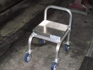 Traction Motor Oil Cart