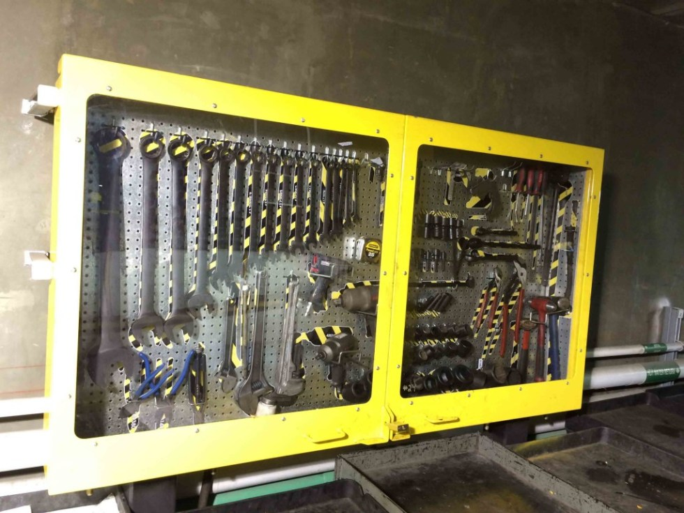 5s Tool Cabinet with Peg Board