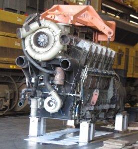 Locomotive Engine Stands