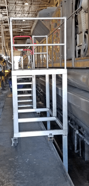 Aluminum Work Ramp