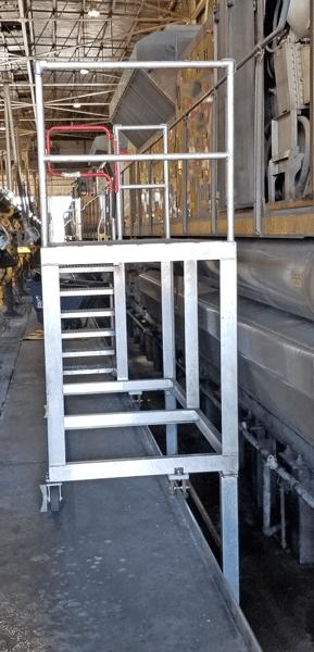 Aluminum Work Ramp