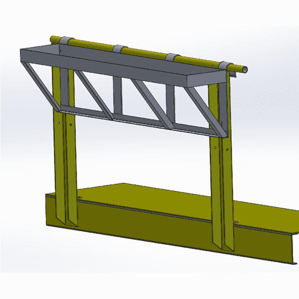 GE Tier 4 Handrail Hanging Tool Tray