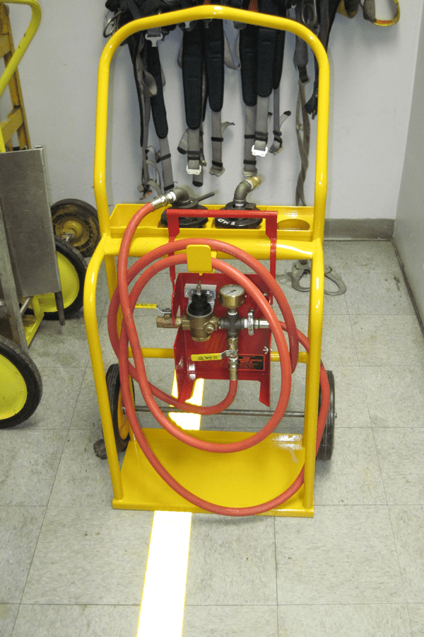 GE and EMD Cooling System Test Kit Tool Dolly