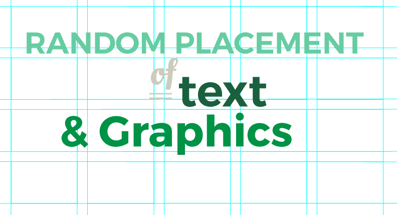 GRAPHIC DESIGNER RULES Abritary Placement