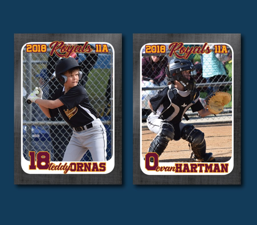 youth baseball cards