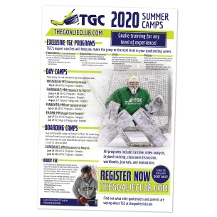 hockey camp poster