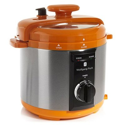 Wolfgang Puck BPCRM800 Automatic 8-quart Rapid Pressure Cooker, Orange