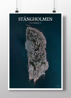 Poster av holmen Stångholmen