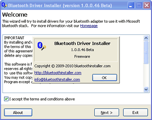 Freeware Generic Microsoft Driver Bluetooth Adapter