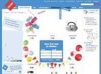 Une boutique en ligne extrêmement interactive