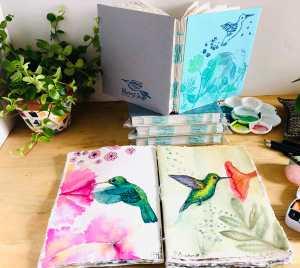 carnet créatif pour aquarelle
