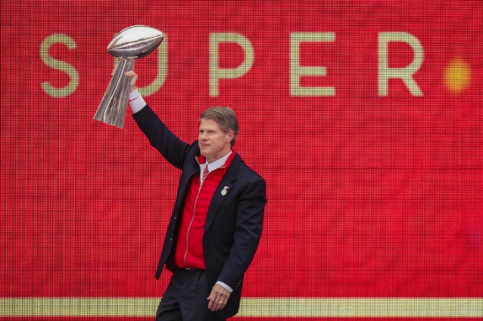 Kansas City Chiefs owner Clark Hunt is among those set to vote Tuesday on expanding the NFL playoffs from 12 to 14 clubs - Kyle Rivas / ©AFP