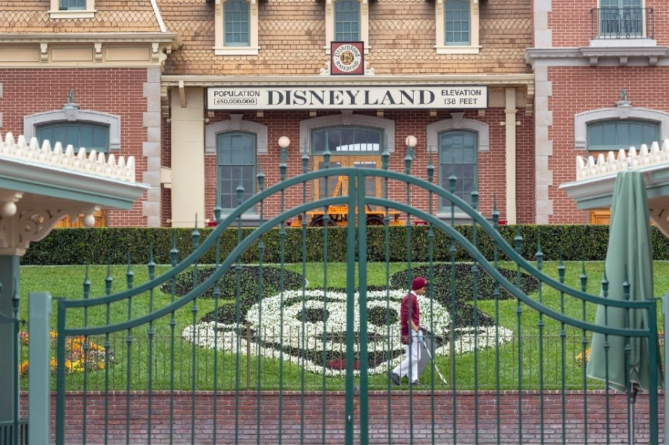 The move announced by the California state health department will permit ballparks, stadiums and mega-attractions including Disneyland to reopen sooner than expected - DAVID MCNEW / ©AFP