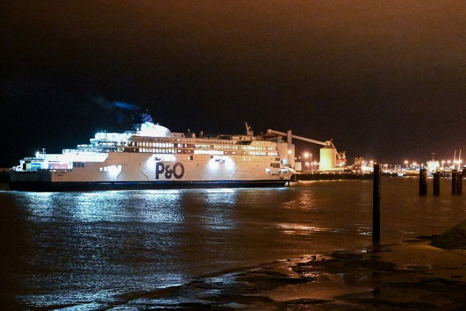 Brits in France have rushed to book places on ferries and trains home as a mandatory quarantine looms - DENIS CHARLET / ©AFP