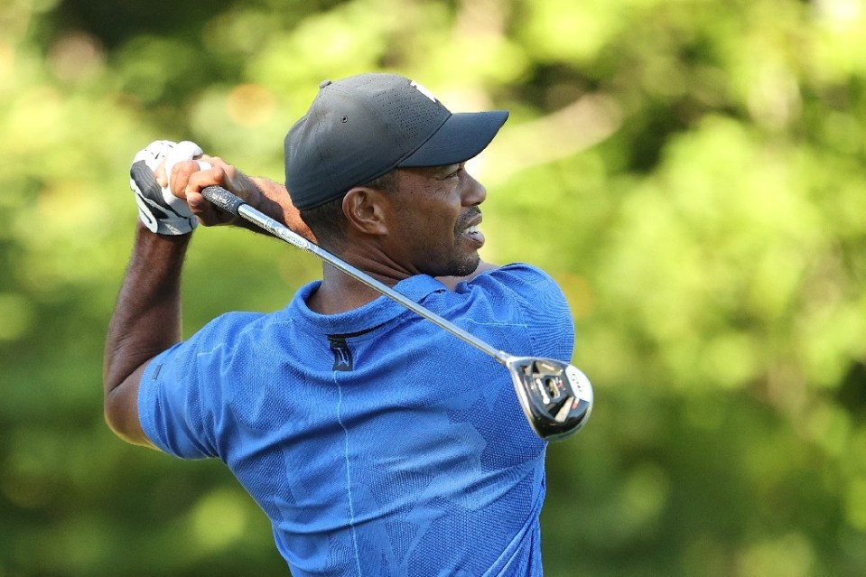 Reigning Masters champion Tiger woods fired a three-under par 68 in Thursday's opening round of the US PGA Northern Trust, the first event of the tour's season-ending FedEx Cup playoffs - Maddie Meyer / ©AFP