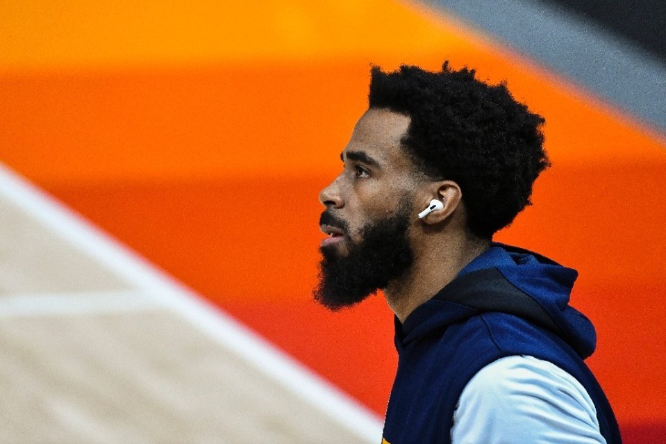 Mike Conley was named an all-star replacement for Devin Booker, making him the third Utah Jazz player in the showcase event - Alex Goodlett / ©AFP