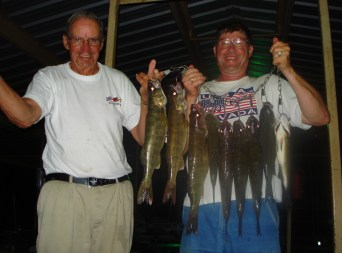 walleye and white bass Lyall and Tom 005