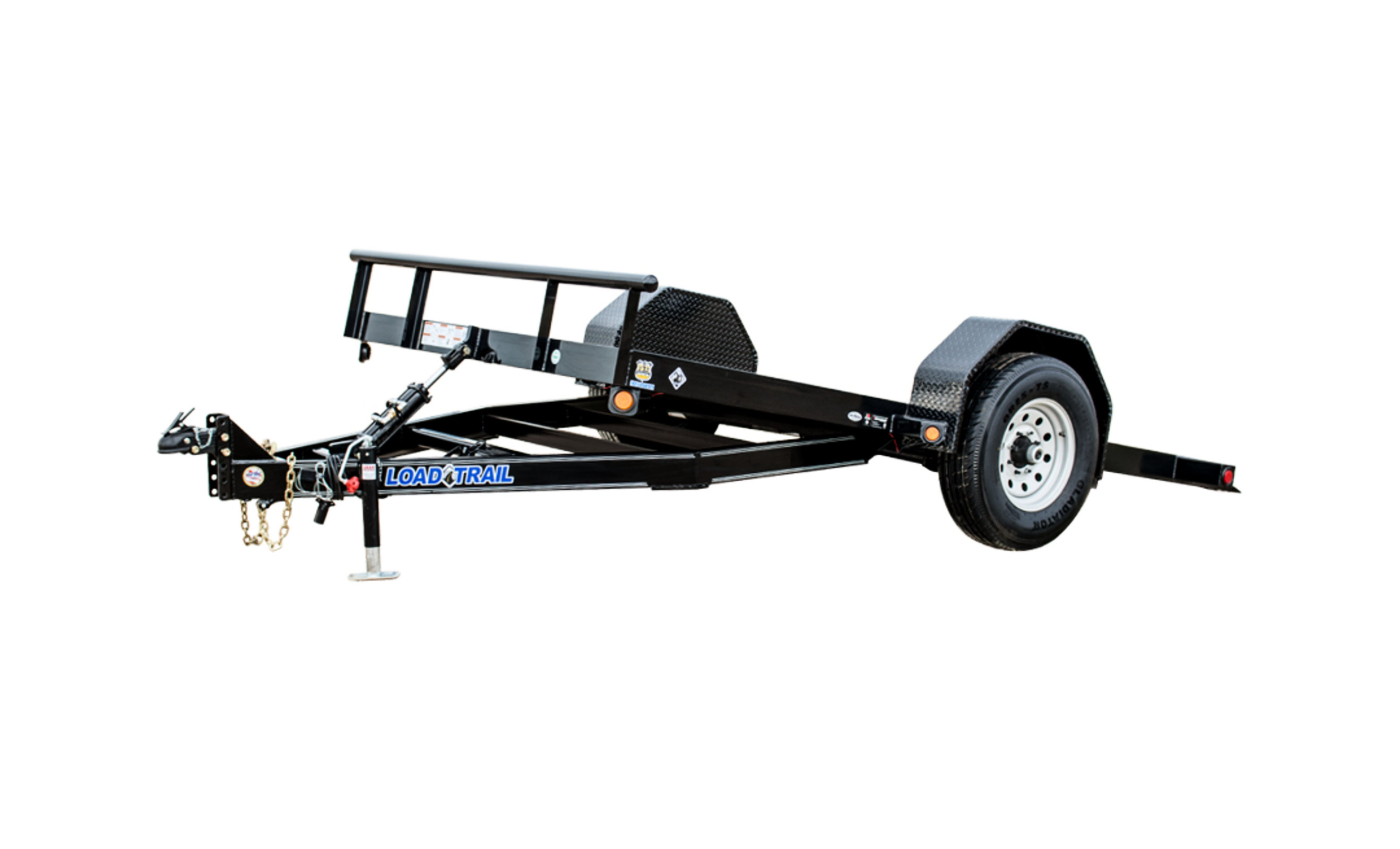 Byo Single Axle Scissor Hauler W 3 X 5 Angle Iron