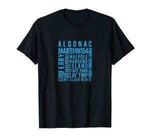 algonac tee shirt