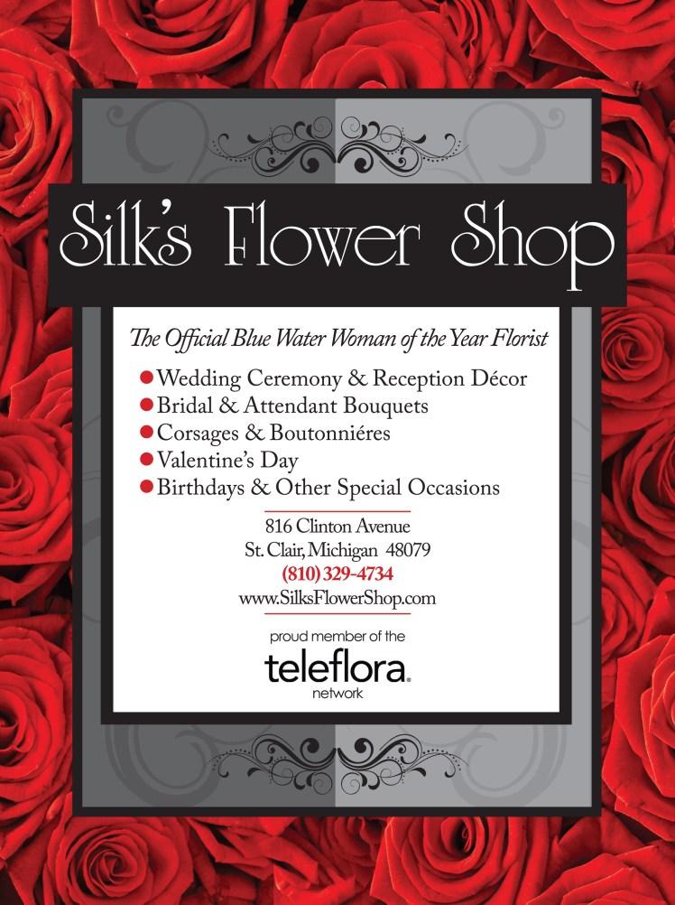 silks flowers--B